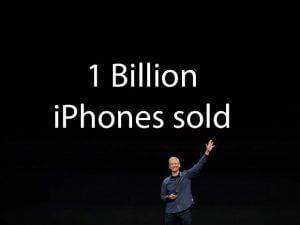 1 Billion iPhones Sold